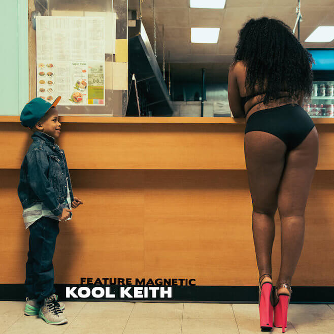 Album cover Feature Magnetic - Kool Keith